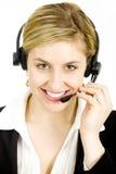 Kundenkontaktcenterbediener Lizenzfreie Stockbilder