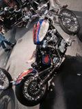Kundenspezifische Fahrräder stellen an der VERONA-BEWEGUNGSfahrrad-AUSSTELLUNG 2015 Italien dar Stockfoto