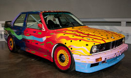 Kundenspezifische Kunst BMW Stockfotografie