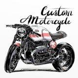 Kundenspezifische Motorradfahne Stockfotos