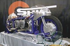 Kundenspezifisches Fahrrad die Maschine Stockfotos