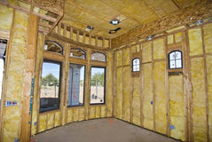 Kundenspezifisches Haus Stockbild