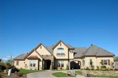 Kundenspezifisches Haus Lizenzfreie Stockbilder