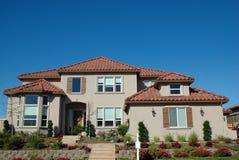 Kundenspezifisches Haus Lizenzfreies Stockbild