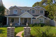 Kundenspezifisches Haus im Newport-Strand, CA Stockfotografie