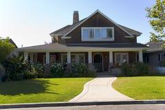 Kundenspezifisches Haus im Newport-Strand, CA- Stockbild