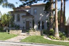 Kundenspezifisches Haus im Newport-Strand, CA Stockfoto