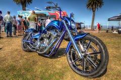 Kundenspezifisches Motorrad Lizenzfreies Stockfoto
