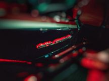 Kundenspezifisches Motorradlogo des Honda-Goldflügels gl-1800 Stockfoto