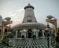 Kundeshwar Temple Panorama. Kundeshwar Temple front view panoramic Royalty Free Stock Photo