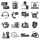 Kundtjänstsymboler Arkivfoton