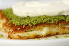 Kunefe / Turkish Traditional Dessert Royalty Free Stock Images