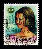 Kungörelse av konungen Juan Carlos I, serie, circa 1975 Royaltyfri Bild