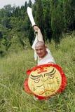 Kung chinês Fu Foto de Stock Royalty Free
