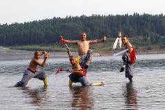 Kung chino Fu Fotografía de archivo libre de regalías
