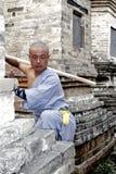 Kung chinois Fu images libres de droits