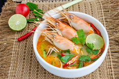 Kung de Tom Yum foto de stock royalty free
