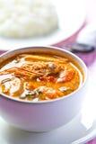 Kung del yum de Tom, alimento tailandés Imagen de archivo libre de regalías