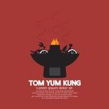 Kung do yum de Tom ilustração royalty free