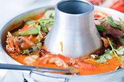 Kung do yum de Tom, alimento tailandês imagem de stock royalty free