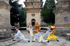 китайское kung fu Стоковая Фотография