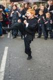 Kung-fu Foto de archivo libre de regalías