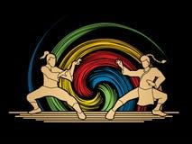 Kung-Fu Lizenzfreie Stockbilder