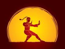 Kung-Fu Stockfotos