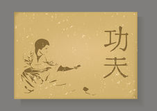 Kung Fu. Royalty Free Stock Photography