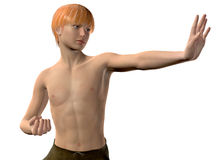 Kung Fu - 3D Stock Images
