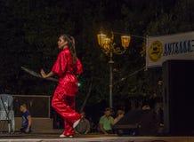 Kung Fu festiwal Obraz Royalty Free