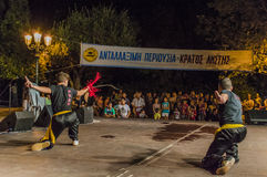 Kung Fu festiwal Obrazy Stock