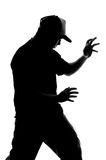 Kung fu fighter Royalty Free Stock Images