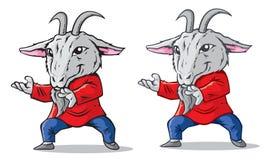 Kung Fu Goat Stock Photos