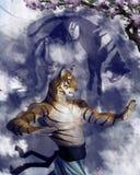 Kung Fu Original lizenzfreie stockbilder