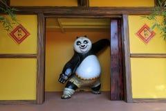 Free Kung Fu Panda Statue At Dreamworld Stock Photo - 138915070