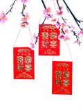 Kung Hei Fat Choys red envelopes Pictures Stock Images
