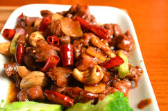 Kung Pao Beef. A Traditional Chinese Sichuan Cuisine - Kung Pao Beef Royalty Free Stock Photo