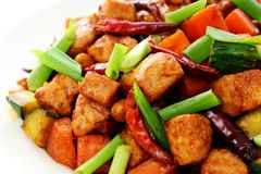 Free Kung Pao Chicken Stock Images - 24379984