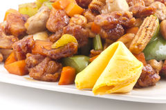 Kung Pao Chicken Royalty Free Stock Photos