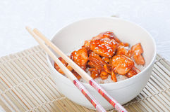 Kung pao chicken Stock Photo