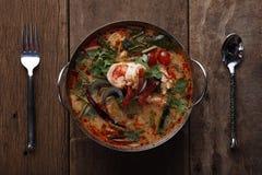 Kung tailandés del Tum de la comida yum Fotos de archivo