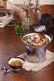Kung tailandés del Tum de la comida yum Imágenes de archivo libres de regalías