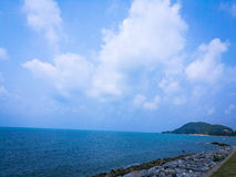 Kung Wiman Beach arkivbild