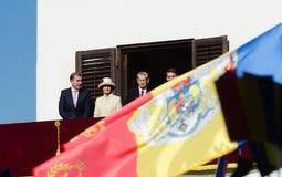 Kungafamiljen av Rumänien Arkivfoton