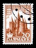 Kungarike Danmark, serie, circa 1953 Arkivfoto