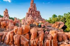 Kungarike för Disney världsmagi Royaltyfri Fotografi