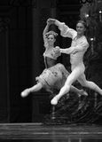 Kungarike för godis för fält för Pasde deux- andra handling i andra hand - balettnötknäpparen Arkivbild