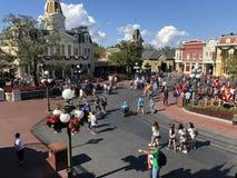Kungarike för magi för Walt Disney World ` s royaltyfri foto
