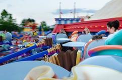 Kungarike för Disney världsmagi Royaltyfri Foto